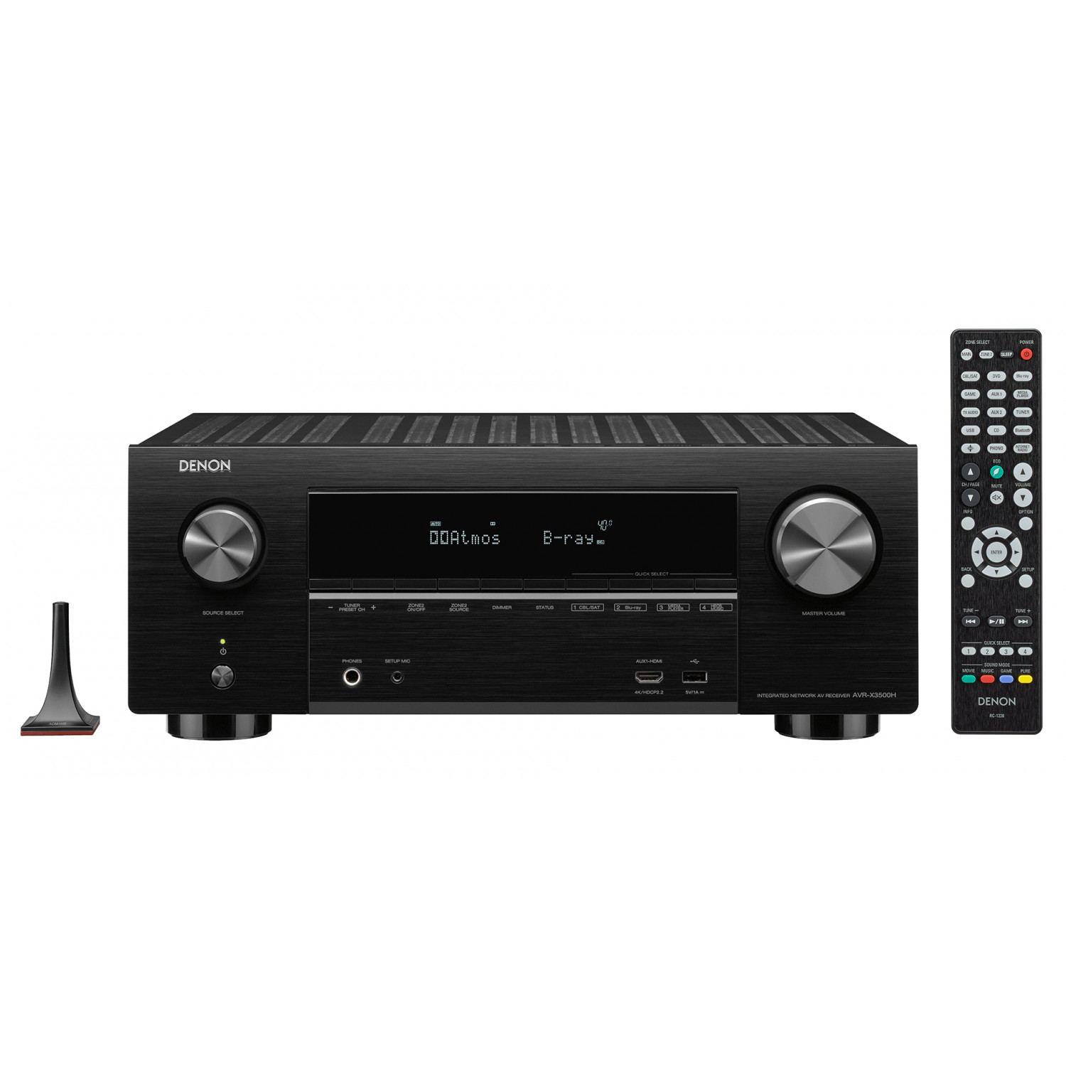 Denon AVR-X3500H 7 2 Channel AV Receiver