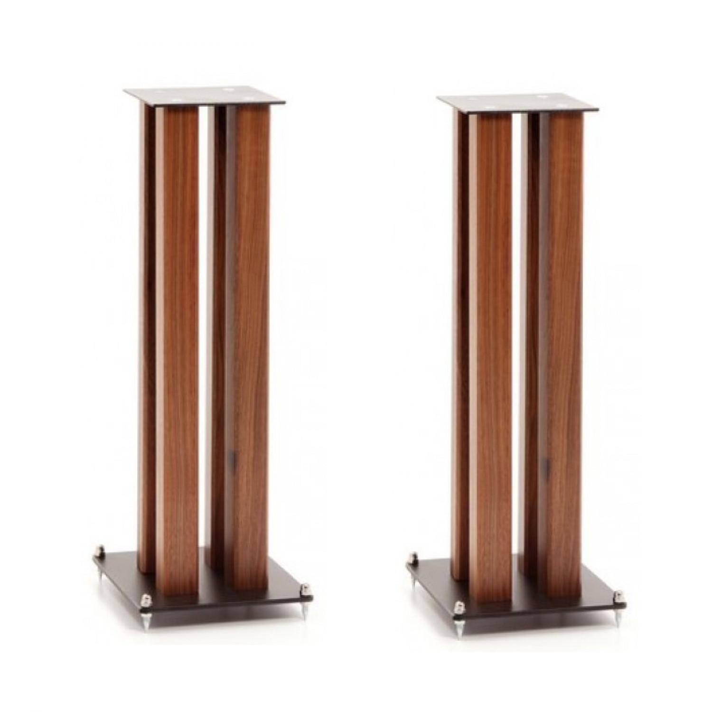 Custom design sq wood speaker stand
