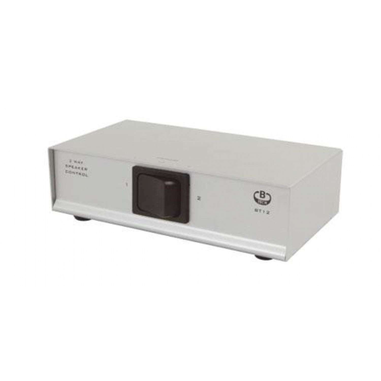 B Tech Bt12 2 Way Speaker Switch Audio Box