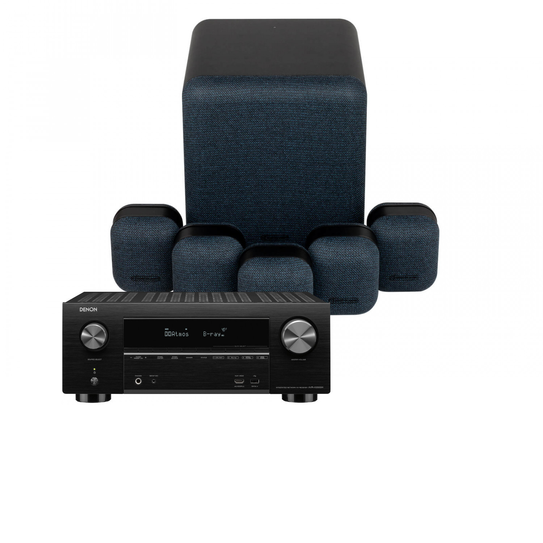 Denon AVR-X3500H 7 2 Channel AV Receiver with Dali Spektor 1