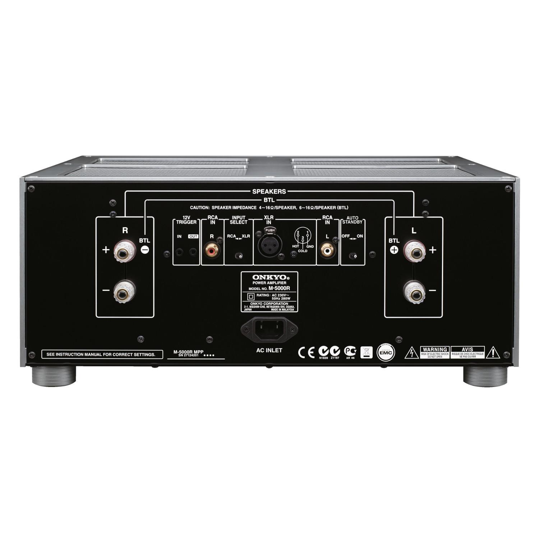 Power Amplifier Auderpro : onkyo m 5000r power amplifier ~ Vivirlamusica.com Haus und Dekorationen