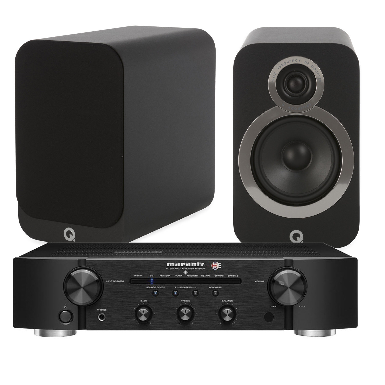Marantz Pm6006 Uk Edition With Q Acoustics 3020i Bookshelf