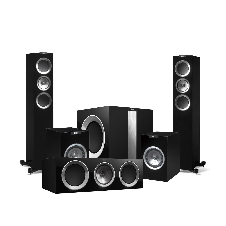 KEF R500 Home Cinema Speaker Package