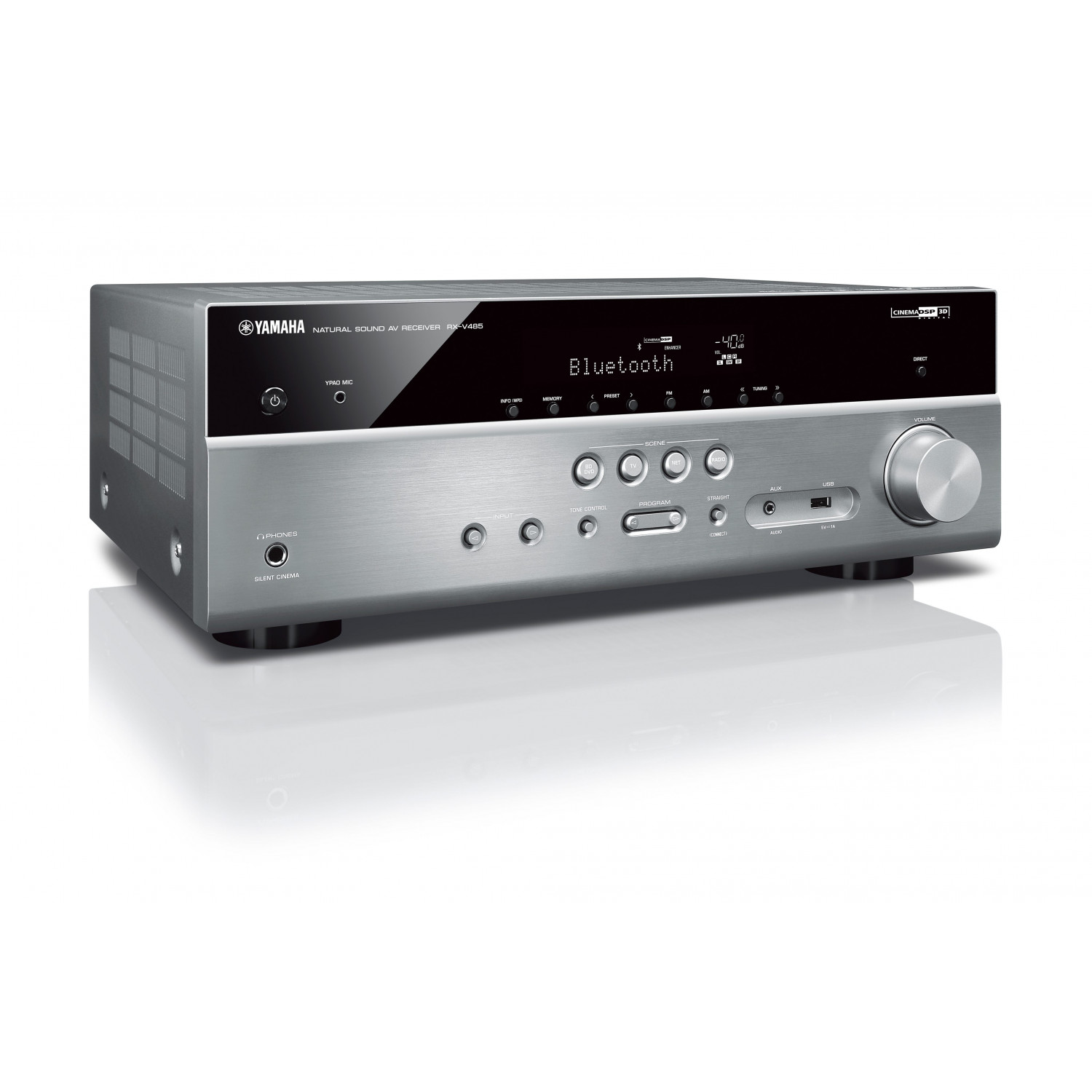 yamaha rx v485 av receiver. Black Bedroom Furniture Sets. Home Design Ideas