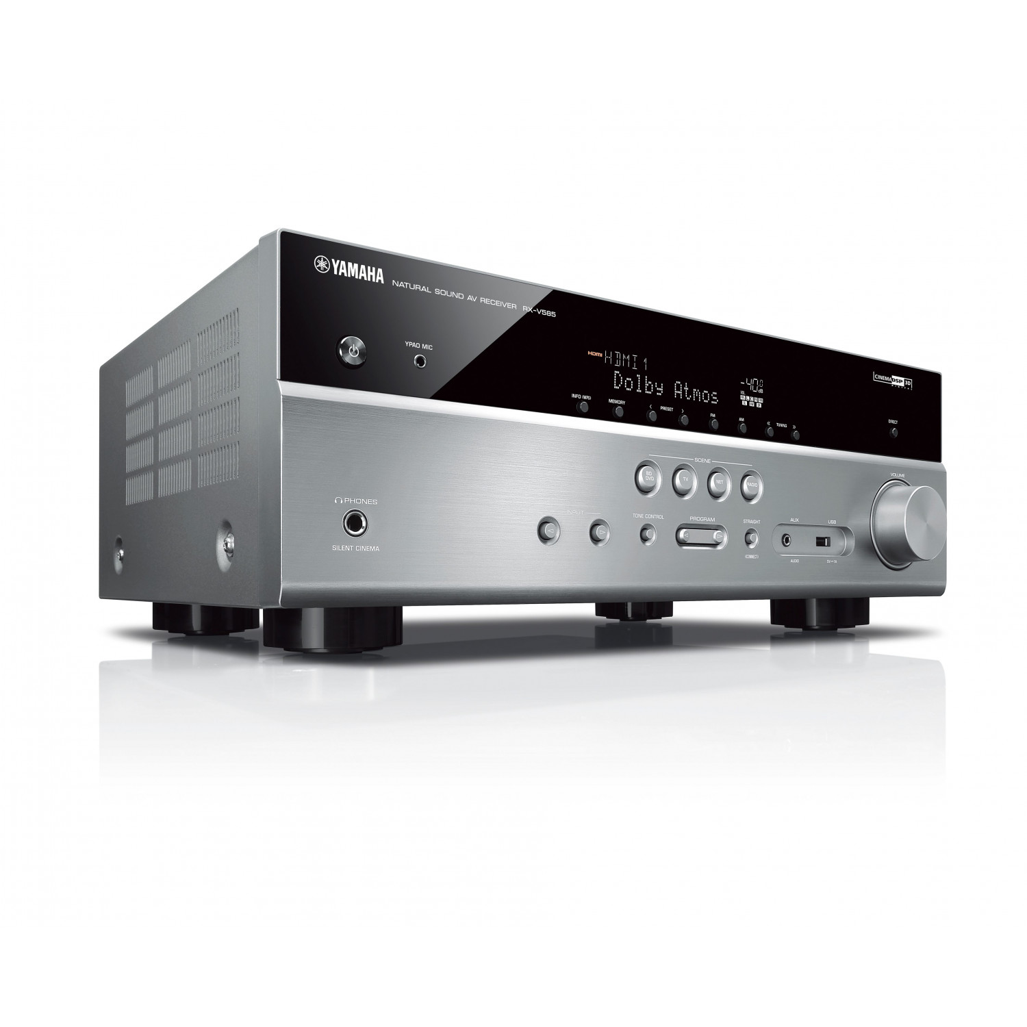yamaha rx v585 av receiver. Black Bedroom Furniture Sets. Home Design Ideas