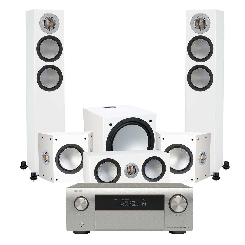 Denon AVR-X4500H 9 2 Channel AV Receiver with Monitor Audio