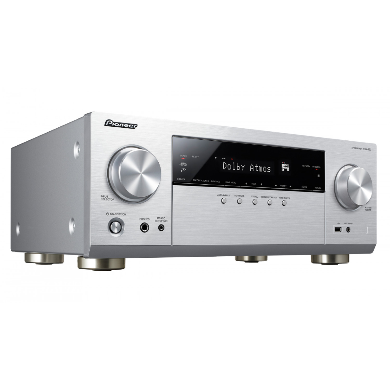 Pioneer VSX-933 7.2 Channel Network AV Receiver