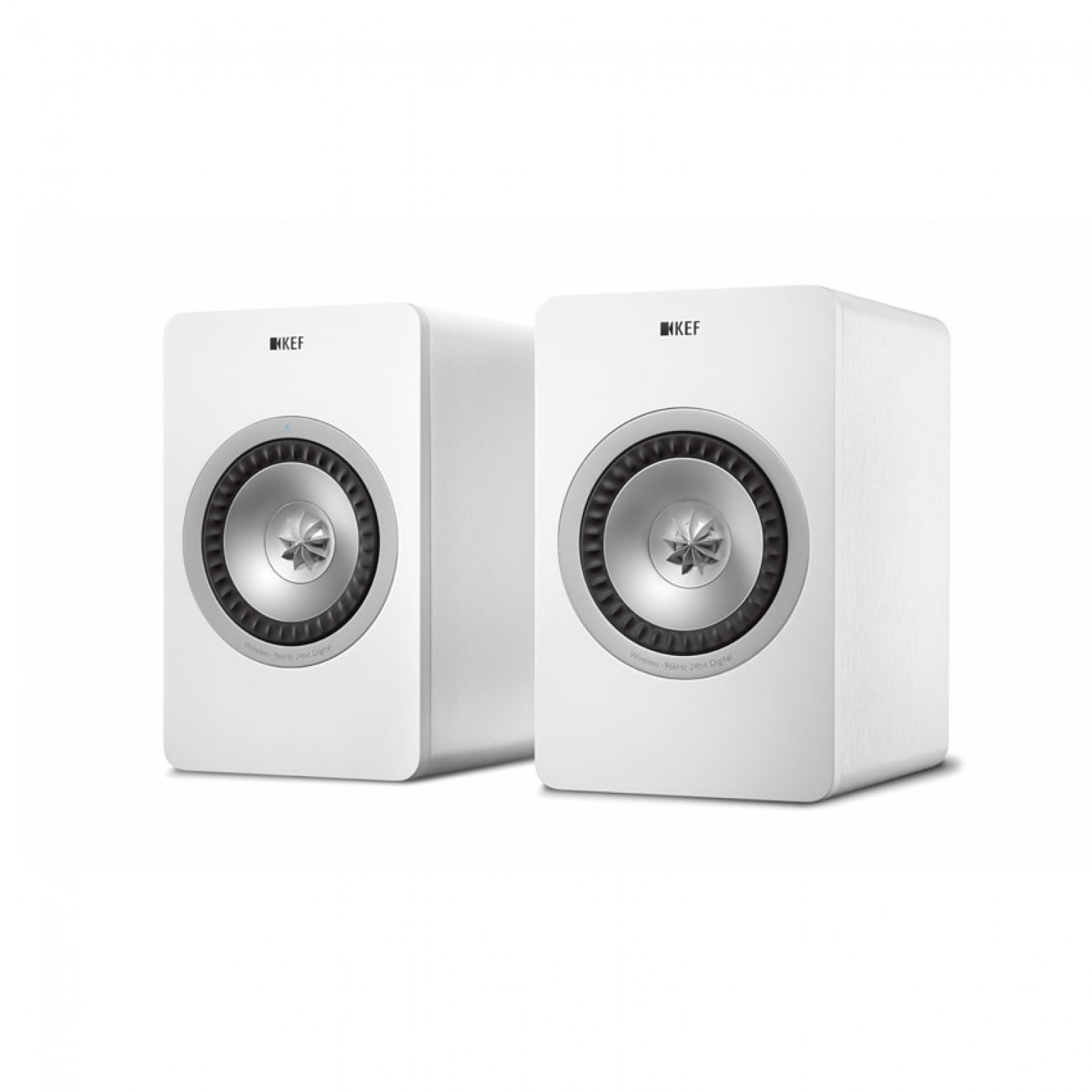 acoustic pair advance digital white speakers wireless bookshelf cinema air