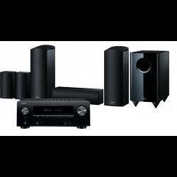 Denon AVR-X2600H AV Receiver with KEF Q150 AV Speaker Pack