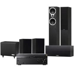 sony str dn1080. sony str-dn1080 av receiver with tannoy eclipse three 5.1 speaker pack str dn1080