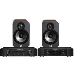 Marantz PM6006 UK Edition & NA6006 with Monitor 200 Speakers