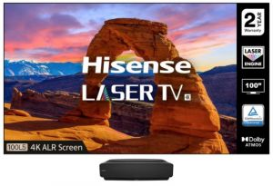 Hisense 100L5FTUK-B12 Ultra short throw laser projector
