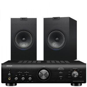 Denon PMA-600NE Integrated Amplifier with KEF Q150 Bookshelf Speakers