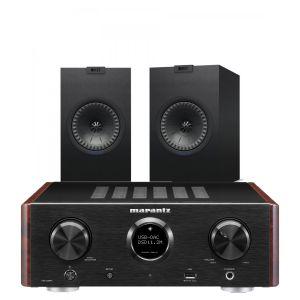 Marantz HD-AMP1 Hi-Fi Amplifier with KEF Q150 Bookshelf Speakers