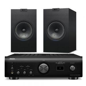 Denon PMA-1600NE with KEF Q150 Bookshelf Speakers