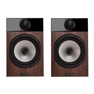 Open Box - Fyne Audio F301 Bookshelf Speakers - Walnut