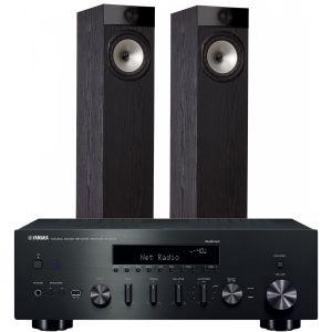 Yamaha R-N602 with Fyne Audio F302 Floorstanding Speakers