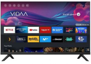 """Hisense 32"""" A4G HD Ready Smart TV with DTS Virtual X & Freeview Play"""