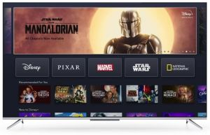 """TCL 55"""" 55P715 Smart Ultra High Definition Television"""