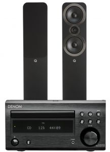 Denon D-M41DAB Hi-Fi System with Q Acoustics 3050i Speakers