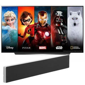 "LG OLED48CX5 48"" OLED Television with Bang & Olufsen Beosound Stage Soundbar"