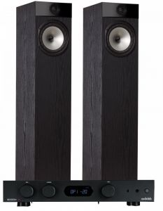 Audiolab 6000A Amplifier with Fyne Audio F302 Floorstanding Speakers
