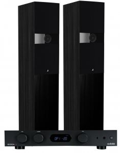 Audiolab 6000A Amplifier with Fyne Audio F303 Floorstanding Speakers