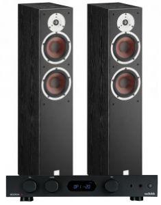 Audiolab 6000A Amplifier with Dali Spektor 6 Floorstanding Speakers