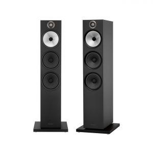 Graded Bowers & Wilkins 603 Floorstanding Speakers - Matte Black
