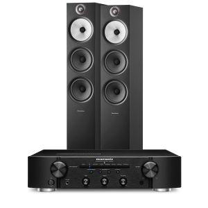 Marantz PM6007 Integrated Amplifier with Bowers & Wilkins 603 S2 Floorstanding Loudspeakers