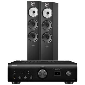Denon PMA-1600NE Integrated Amplifier with Bowers & Wilkins 603 S2 Floorstanding Loudspeakers