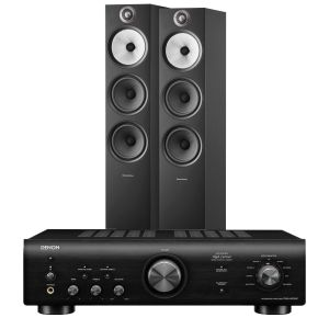 Denon PMA-600NE Integrated Amplifier with Bowers & Wilkins 603 S2 Floorstanding Loudspeakers