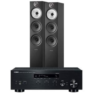 Yamaha R-N303D Hi-Fi Receiver with Bowers & Wilkins 603 S2 Floorstanding Loudspeakers