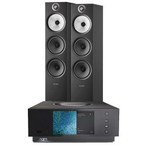 Naim Atom HDMI with Bowers & Wilkins 603 S2 Floorstanding Loudspeakers