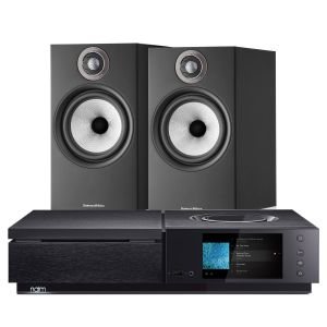 Naim Uniti Star All-In-One Player with Bowers & Wilkins 606 S2 Standmount Loudspeakers
