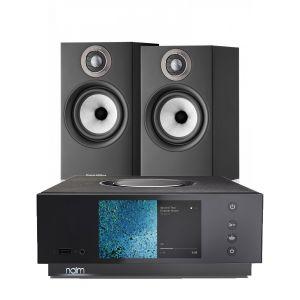 Naim Atom HDMI with Bowers & Wilkins 607 S2 Standmount Loudspeakers