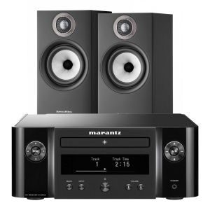 Marantz Melody X. M-CR612 Music System with Bowers & Wilkins 607 S2 Standmount Loudspeakers