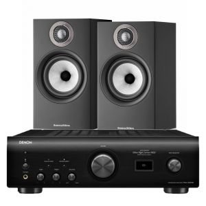 Denon PMA-1600NE Integrated Amplifier with Bowers & Wilkins 607 S2 Standmount Loudspeakers