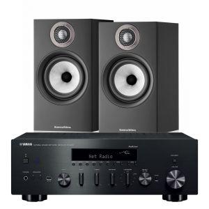Yamaha R-N602 with Bowers & Wilkins 607 S2 Standmount Loudspeakers