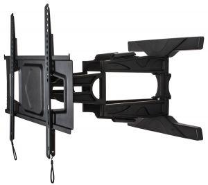 B-Tech BT8225 Ultra-Slim Tilt and Swivel TV Wall Mount