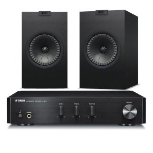 Yamaha A-670 with KEF Q150 Speakers