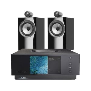 Naim Atom HDMI with Bowers & Wilkins 705 S2 Standmount Speakers