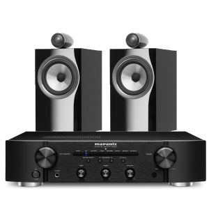 Marantz PM6007 Integrated Amplifier with Bowers & Wilkins 705 S2 Standmount Speakers