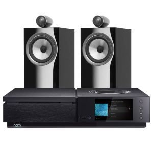 Naim Uniti Star All-In-One Player with Bowers & Wilkins 705 S2 Standmount Speakers