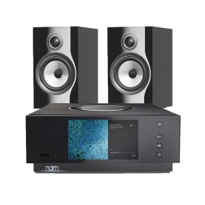 Naim Atom HDMI with Bowers & Wilkins 706 S2 Standmount Speakers