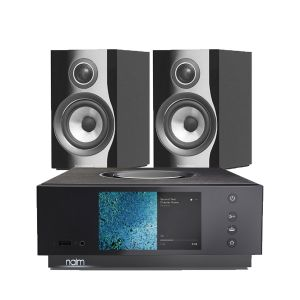 Naim Atom HDMI with Bowers & Wilkins 707 S2 Standmount Speakers