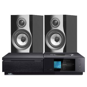 Naim Uniti Star All-In-One Player with Bowers & Wilkins 707 S2 Standmount Speakers