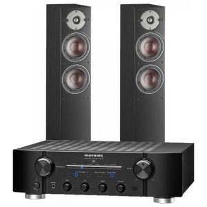 Marantz PM8006 HiFi Amplifier with Dali Oberon 5 Floorstanding Speakers