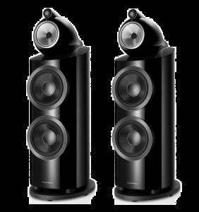 Ex Display - Bowers & Wilkins 800 D3 Floorstanding Speakers - Black