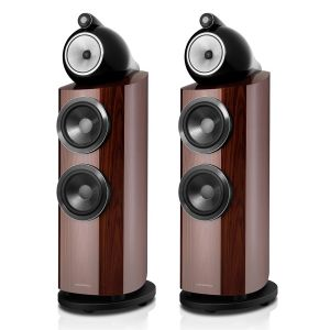 Ex Display - Bowers & Wilkins 802 D3 Floorstanding Speakers - Santos Rosewood